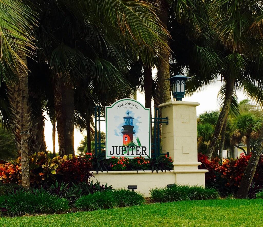 Jupiter florida entrance