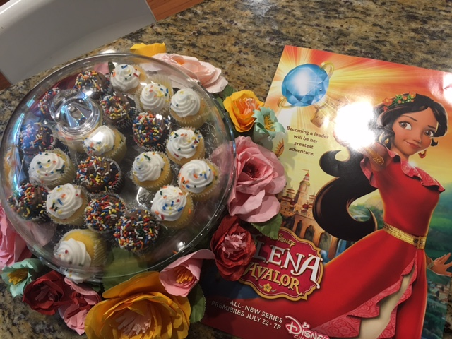 Cupcakes Elena of Avalor
