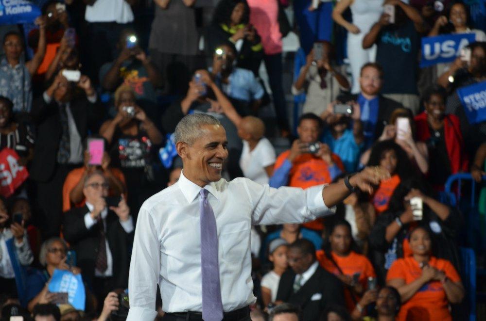 Obama en Miami en rally a favor de Hillary Clinton
