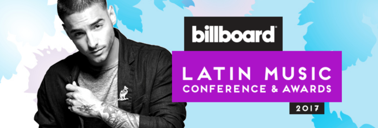 Maluma conferencia billboard