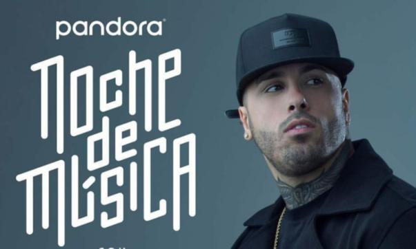 Nicky Jam Pandora Night