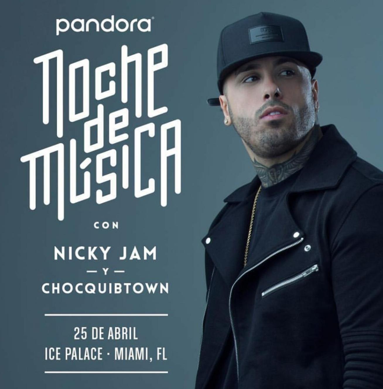 Nicky Jam Pandora